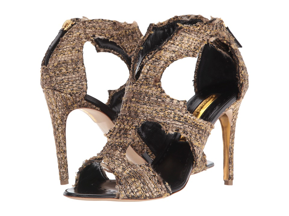 Rupert Sanderson Estelle (Dusty Tweed Glitz) High Heels