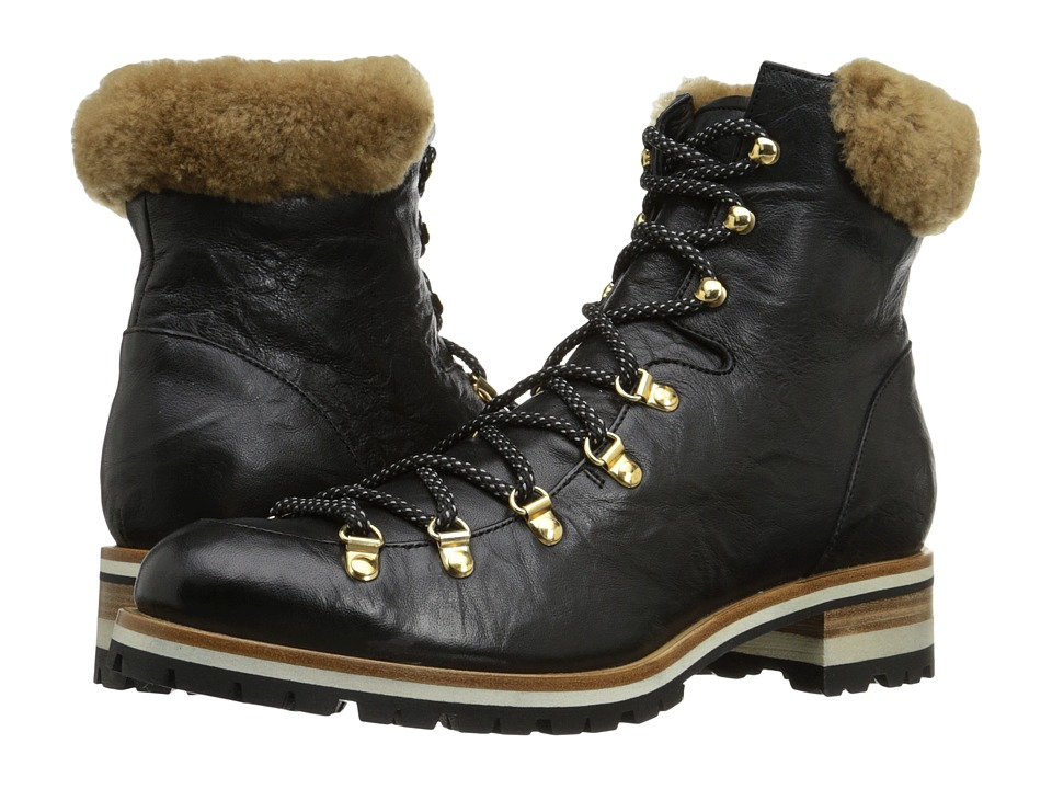 Rupert Sanderson - Hamilton (Black Tusk Calf) Women's Hiking Boots