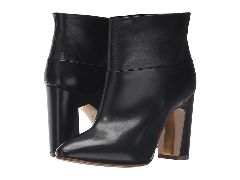 Rupert Sanderson - Prestige (Black Calf/Black Nappa) Women's Pull-on Boots
