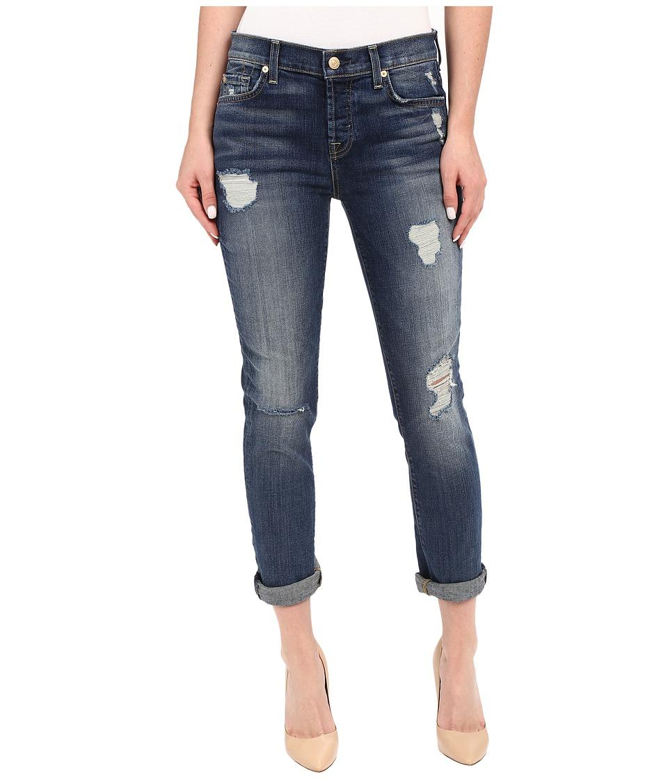 7 For All Mankind - Josefina with Destroy in Crete Island 2 (Crete Island 2) Women's Jeans