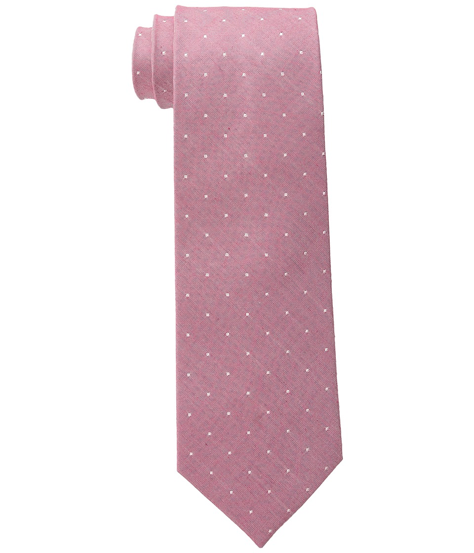 Tommy Hilfiger - Linen Pin Dot (Red) Ties