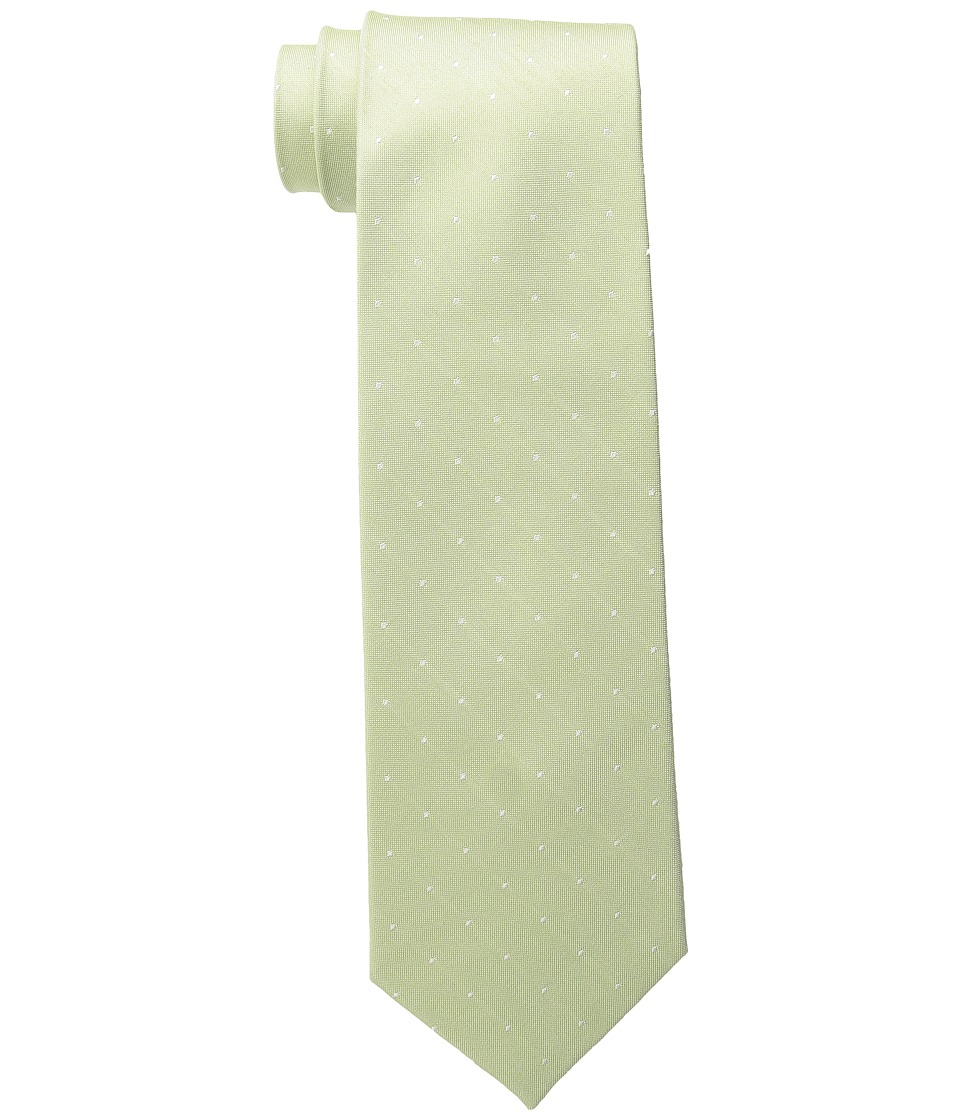 Tommy Hilfiger - Linen Pin Dot (Green) Ties