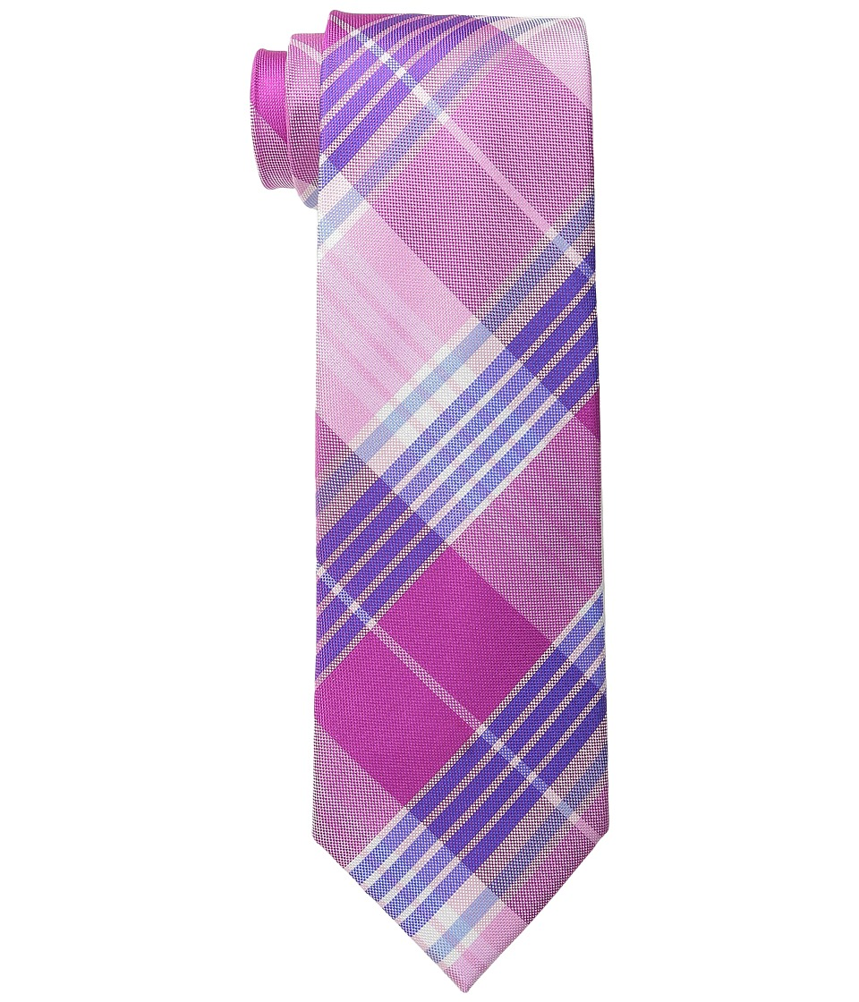 Tommy Hilfiger - Big Twill Plaid (Pink) Ties