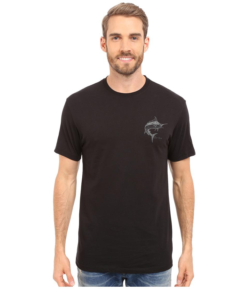 Jack O'Neill - Scripts Short Sleeve Screen Tee (Black) Men's T Shirt