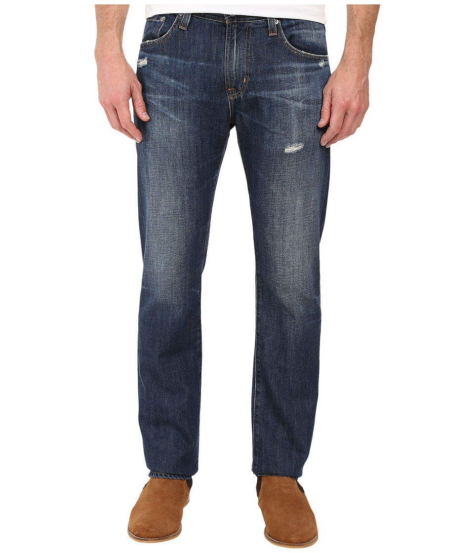 AG Adriano Goldschmied - Matchbox Slim Straight Denim in 12 Years Horseman (12 Years Horseman) Men's Jeans