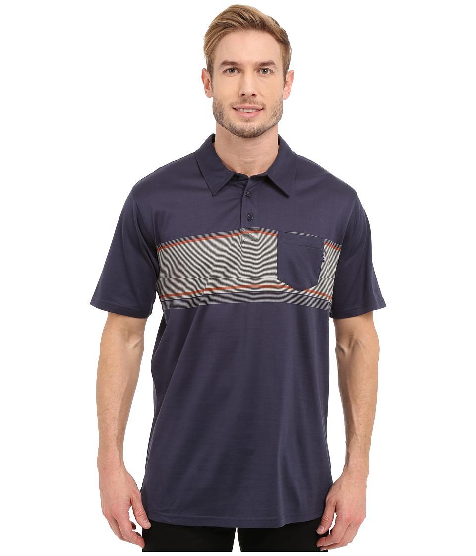 Jack O'Neill - Laguna Knits (Navy) Men's Short Sleeve Knit