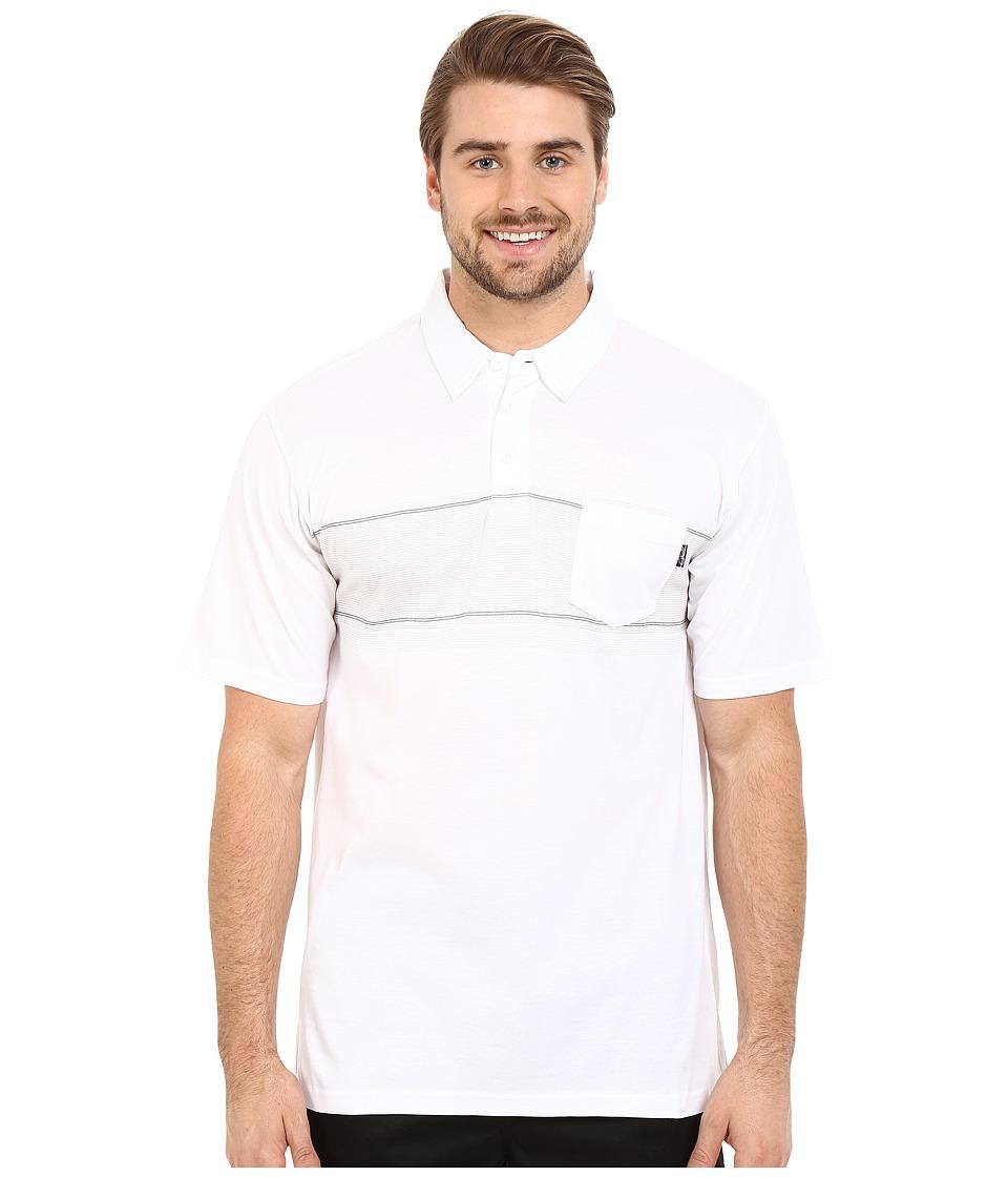 Jack O'Neill - Laguna Knits (White) Men's Short Sleeve Knit