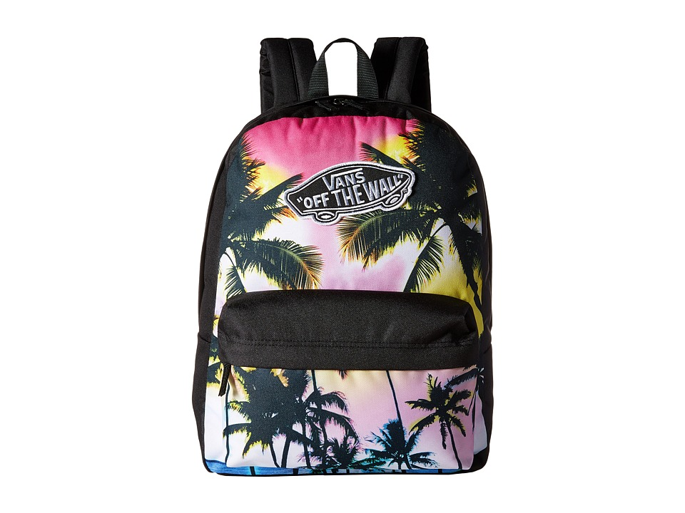 Vans - Realm Backpack (Palm Photo) Backpack Bags