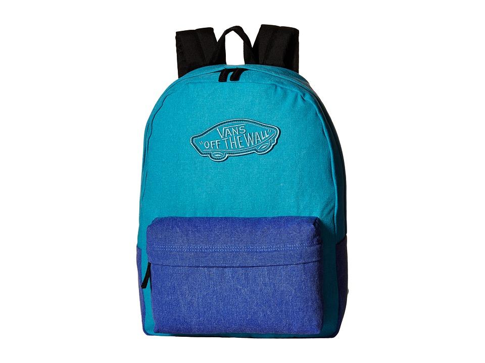 Vans - Realm Backpack (Capri Breeze Washed) Backpack Bags