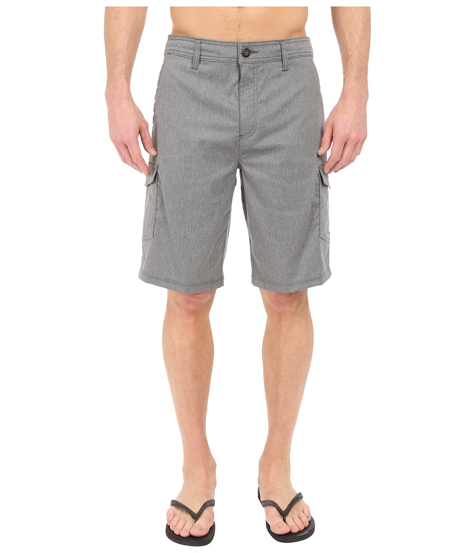 Jack O'Neill - East Solid Boardshorts (Dark Charcoal) Men's Swimwear