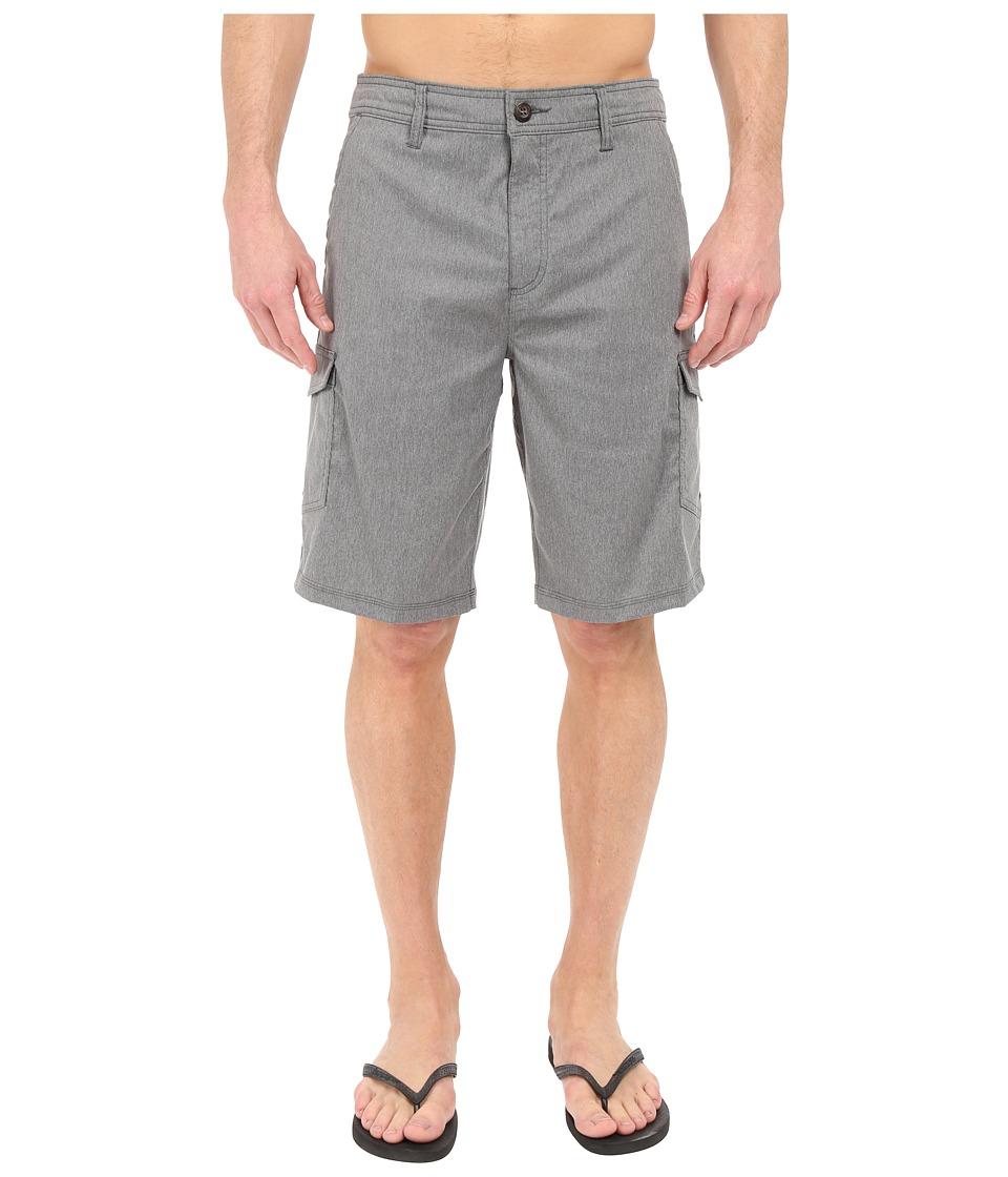 Jack O'Neill - East Solid Boardshorts (Dark Charcoal) Men's Swimwear