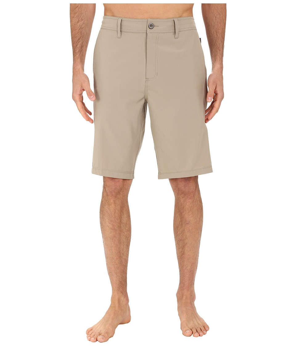 Jack O'Neill - A Frame Solid Boardshorts (Khaki) Men's Shorts