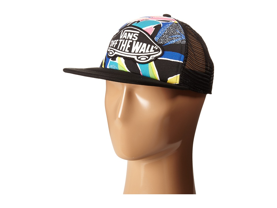 Vans - Beach Girl Trucker Hat (Dazzling Blue) Caps