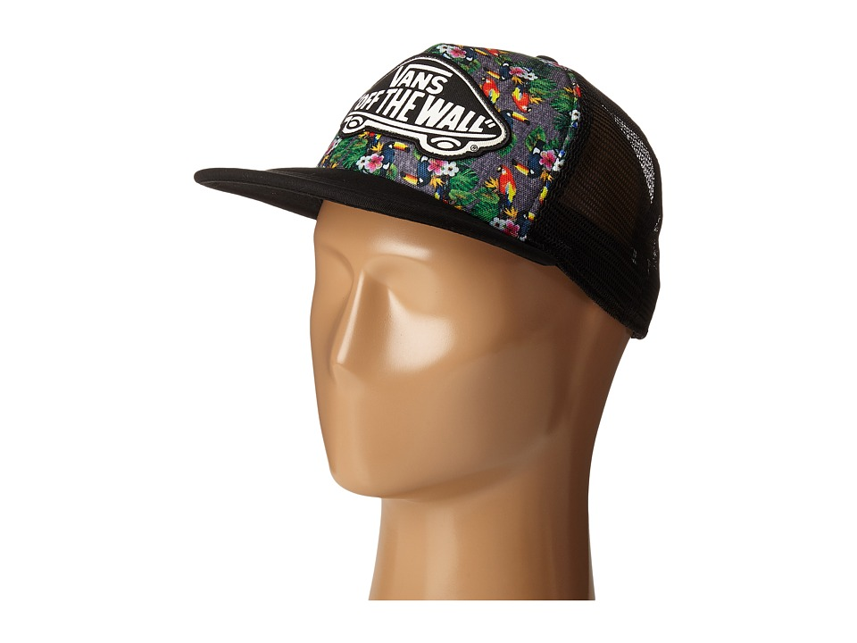Vans - Beach Girl Trucker Hat (Parrot) Caps