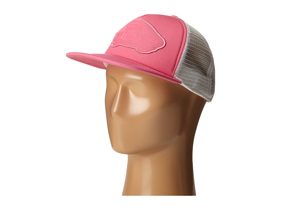 Vans - Beach Girl Trucker Hat (Azalea Pink Washed) Caps