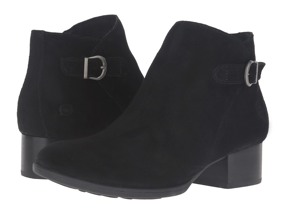 Born - Phobos (Black Suede) Women's Boots