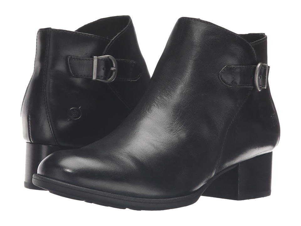 Born - Phobos (Black Full Grain Leather) Women's Boots