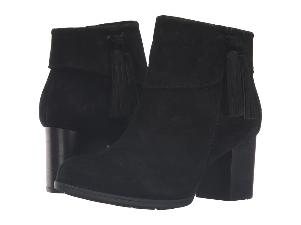 Born Mauvide (Black Suede) Women