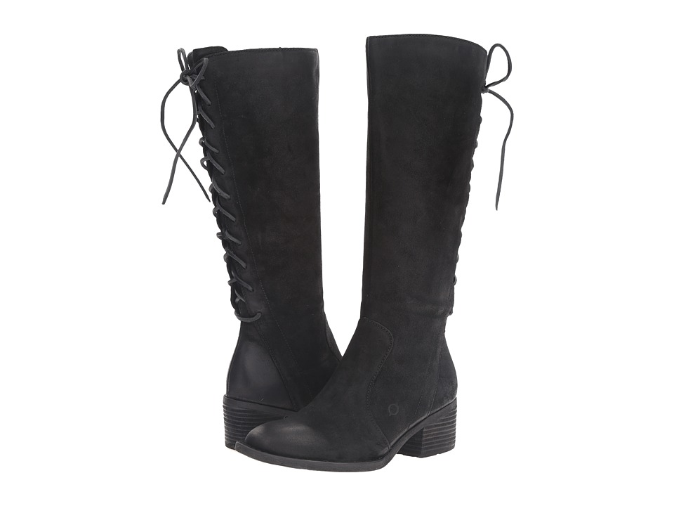 Born - Azurite (Black Distressed) Women's Boots