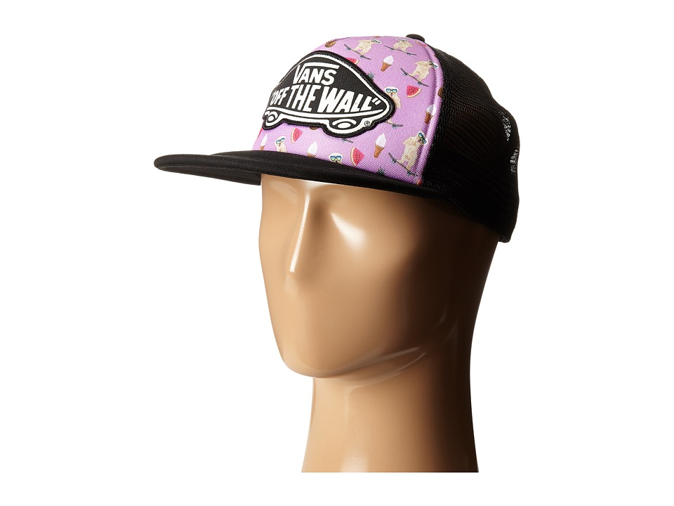 Vans - Beach Girl Trucker Hat (African Violet) Caps