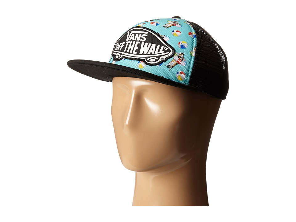 Vans - Beach Girl Trucker Hat (Aqua Sea) Caps