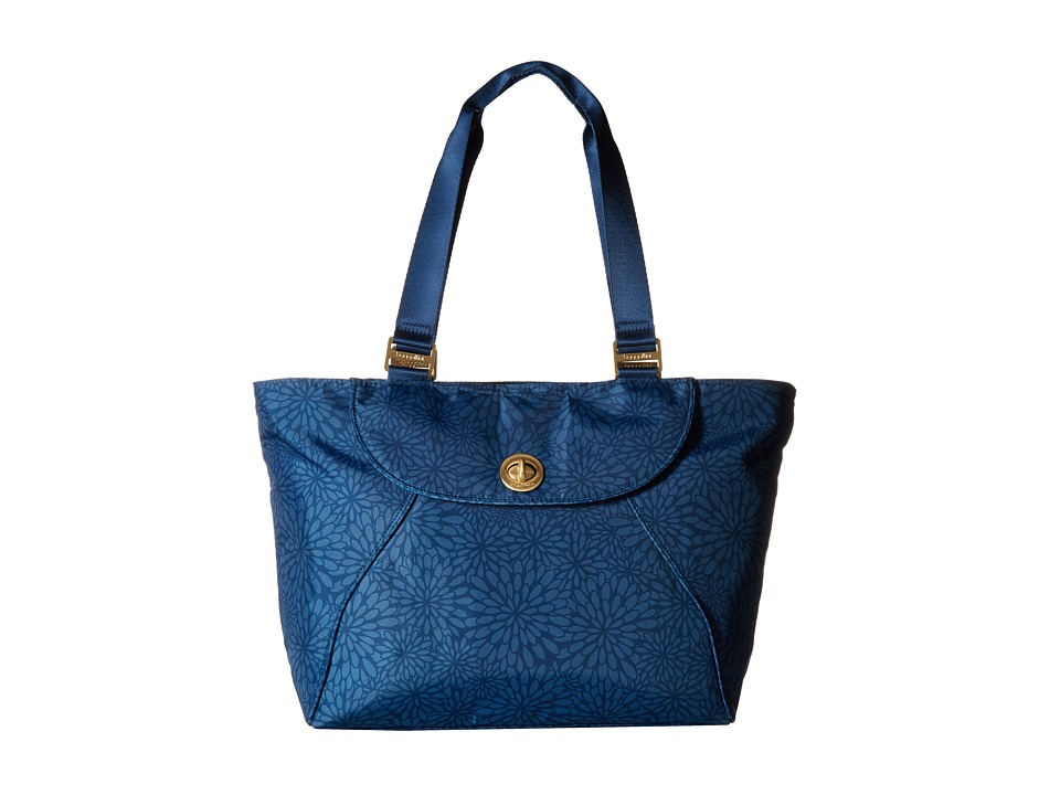 Baggallini - Gold Alberta Tote (Pacific Floral) Tote Handbags