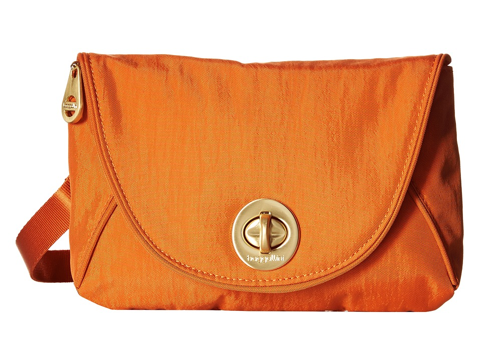 Baggallini - Gold Seville Mini (Papaya) Cross Body Handbags