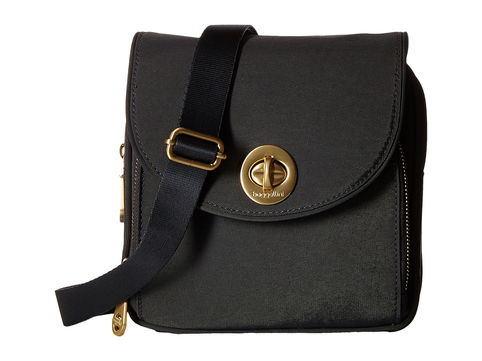 Baggallini - Kensington Mini (Charcoal) Cross Body Handbags