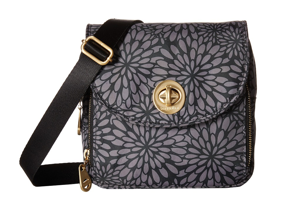 Baggallini - Kensington Mini (Pewter Floral) Cross Body Handbags