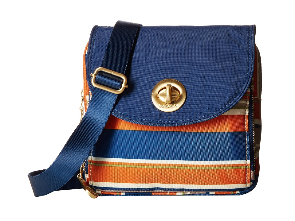 Baggallini - Kensington Mini (Pacific Stripe) Cross Body Handbags