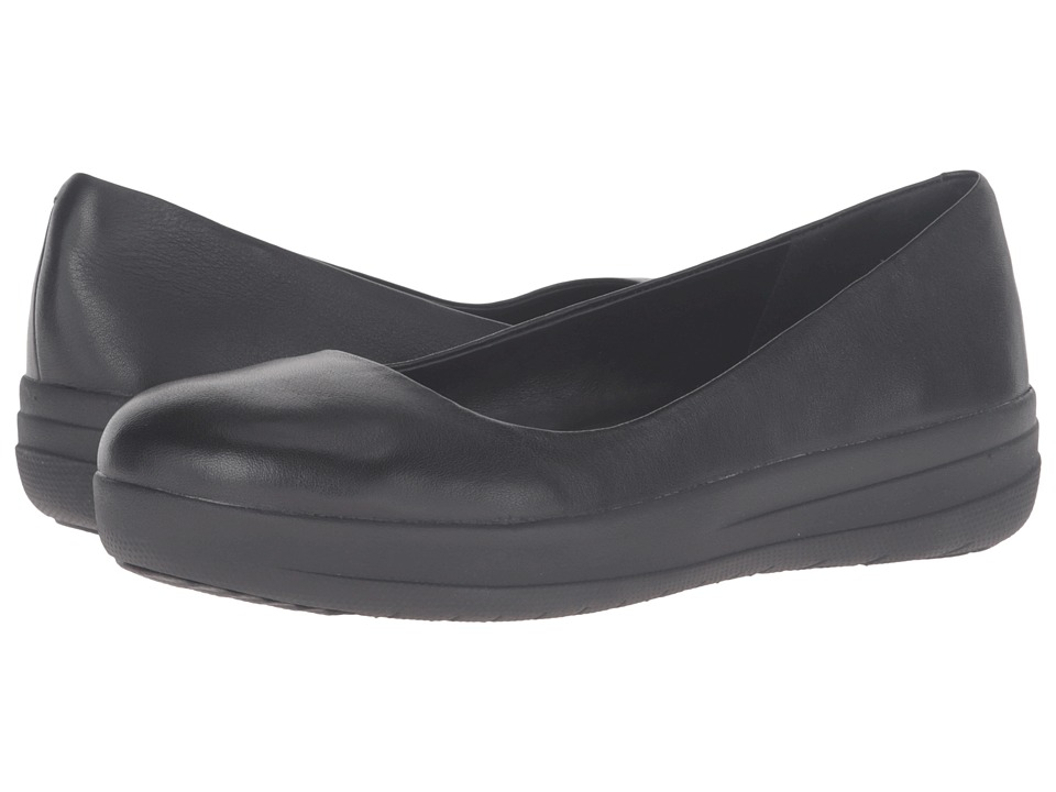 FitFlop - Sporty Ballerina (All Black) Women's Sandals