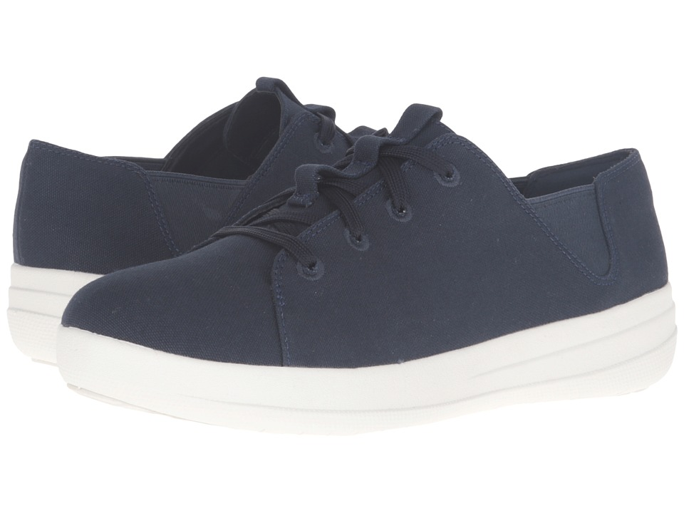 FitFlop - Sporty Lace-Up Sneaker (Supernavy) Women's Lace up casual Shoes