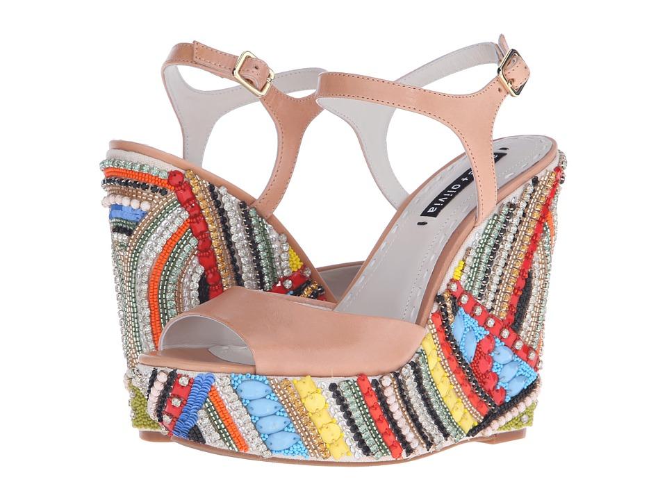 Alice + Olivia - Laura (Tan Calf) Women's Shoes