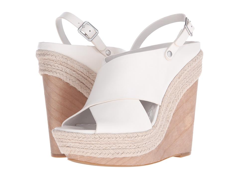 Alice + Olivia Lia Bone Smooth Vacchetta Shoes
