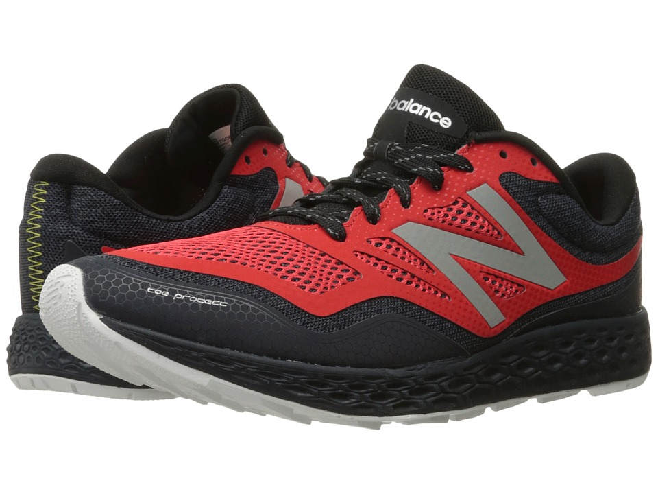 New Balance - Fresh Foam Gobi (Black/Red) Men's Shoes