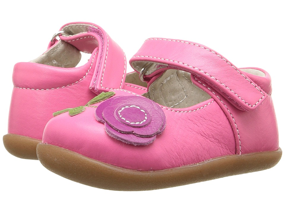 See Kai Run Kids - Carli (Infant/Toddler) (Hot Pink/Berry) Girl's Shoes