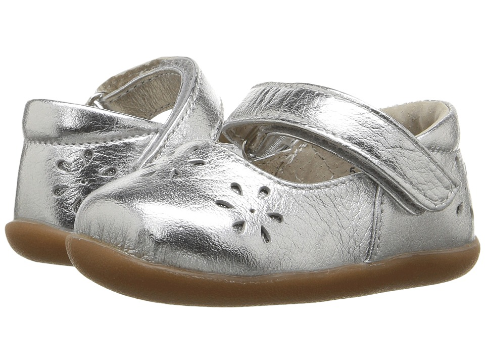 See Kai Run Kids Ginger II (Infant/Toddler) (Silver) Girl