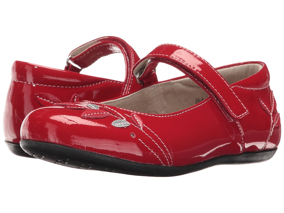 See Kai Run Kids - Adeline (Toddler) (Red Patent) Girl's Shoes