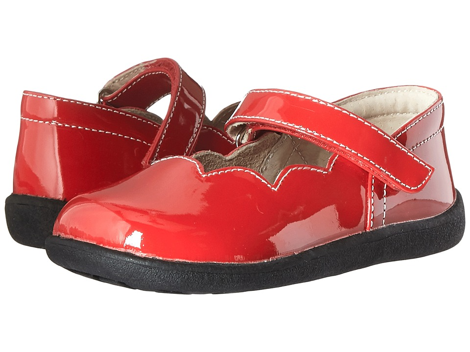 See Kai Run Kids Savannah (Toddler) (Red Patent) Girl
