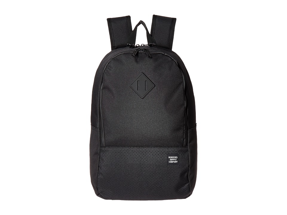 Herschel Supply Co. - Nelson (Black/Black Rubber 2) Backpack Bags