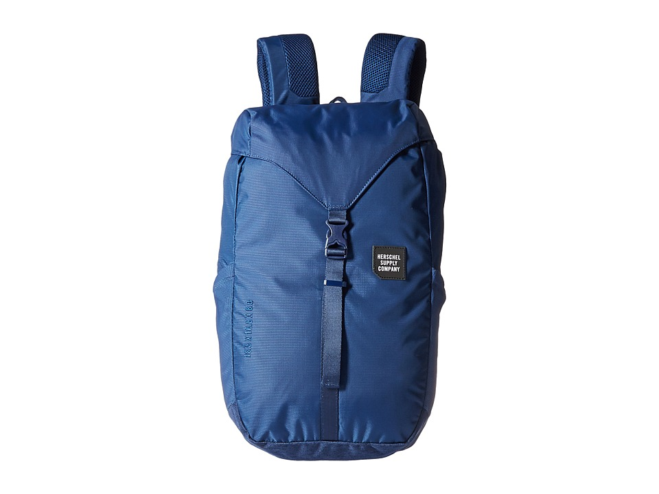 Herschel Supply Co. - Barlow Medium (Peacoat) Backpack Bags