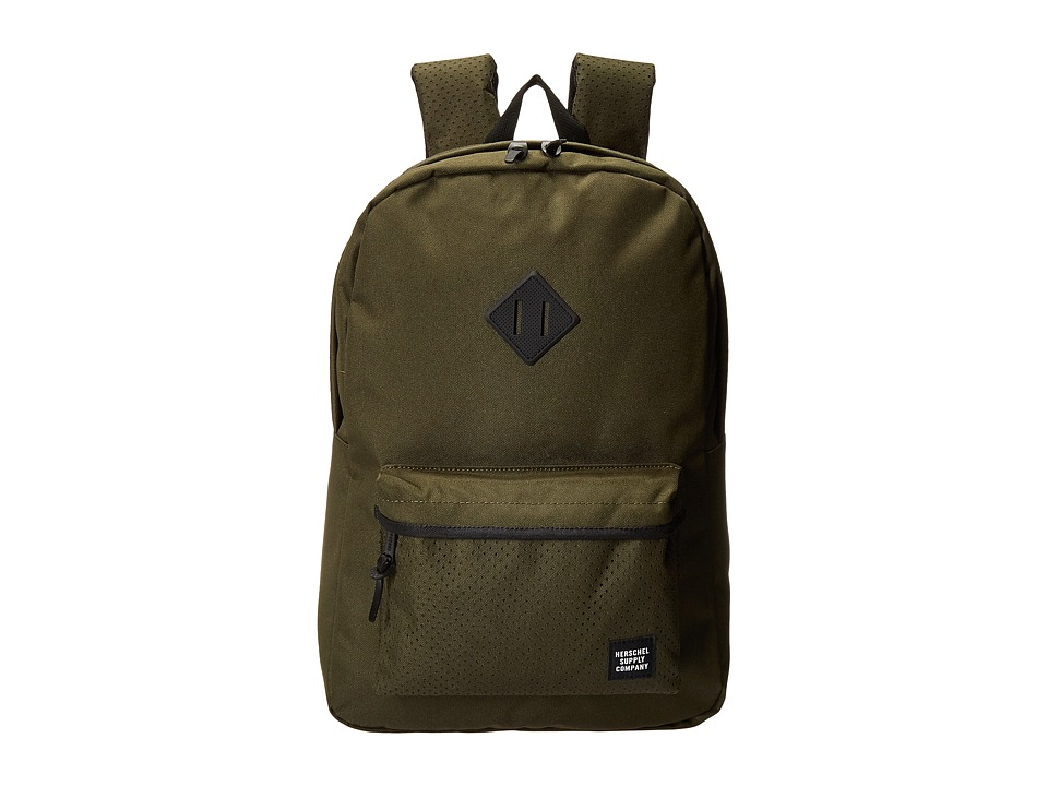 Herschel Supply Co. - Heritage (Forest Night/Black Rubber) Backpack Bags
