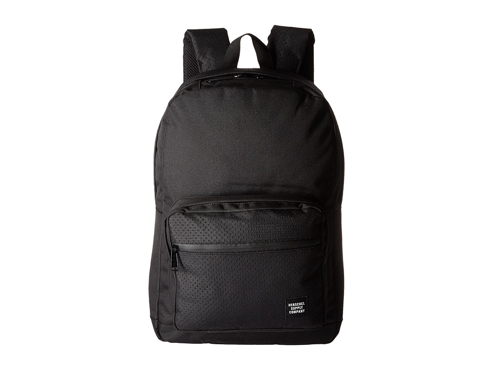 Herschel Supply Co. - Pop Quiz (Black/Black 2) Backpack Bags