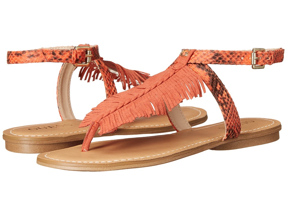 GUESS - Guavva (Coral) Women's Sandals