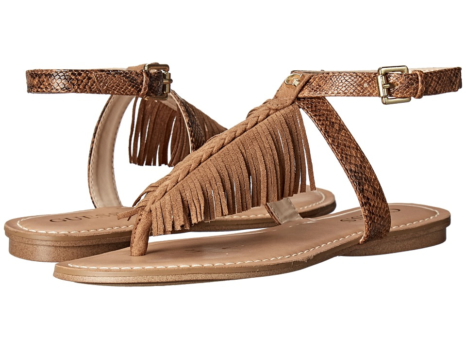 GUESS - Guavva (Tan) Women's Sandals