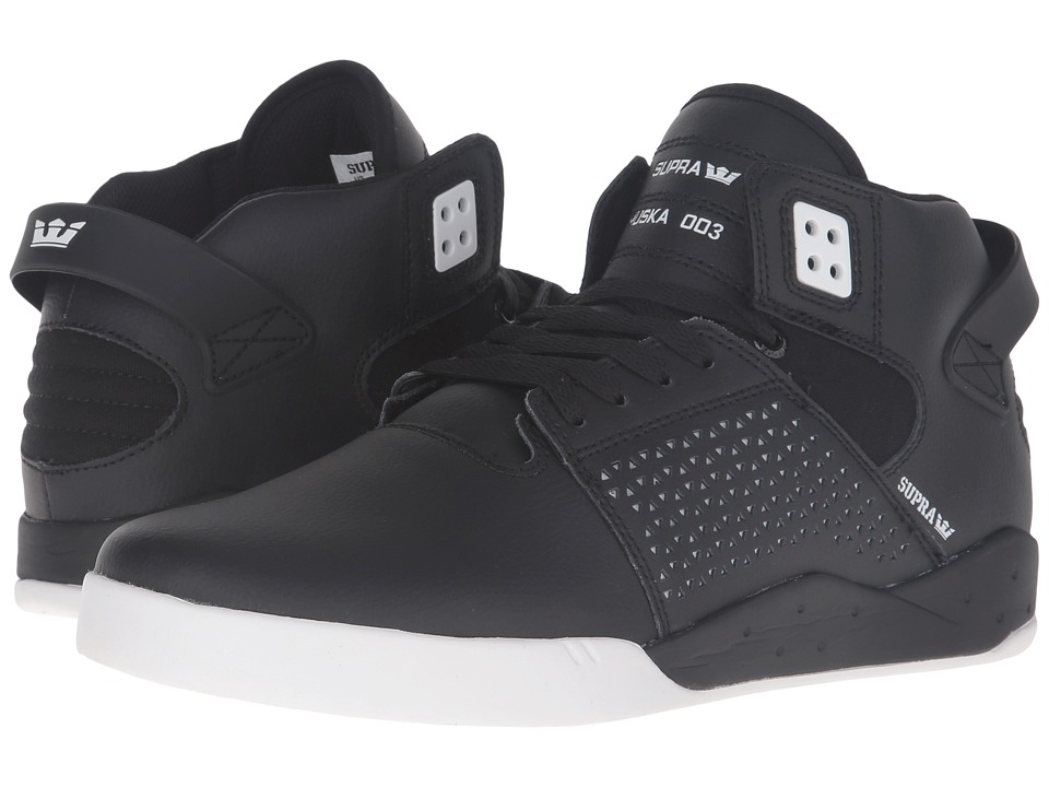 Supra - Skytop III (Black Leather) Men's Skate Shoes