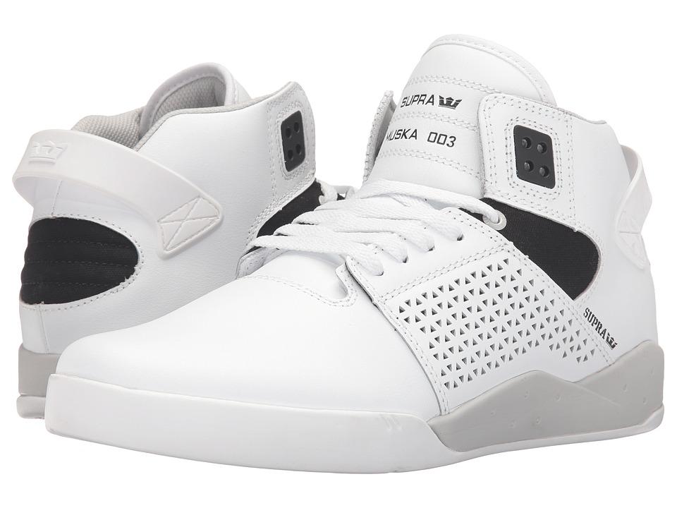 Supra - Skytop III (White Leather) Men's Skate Shoes