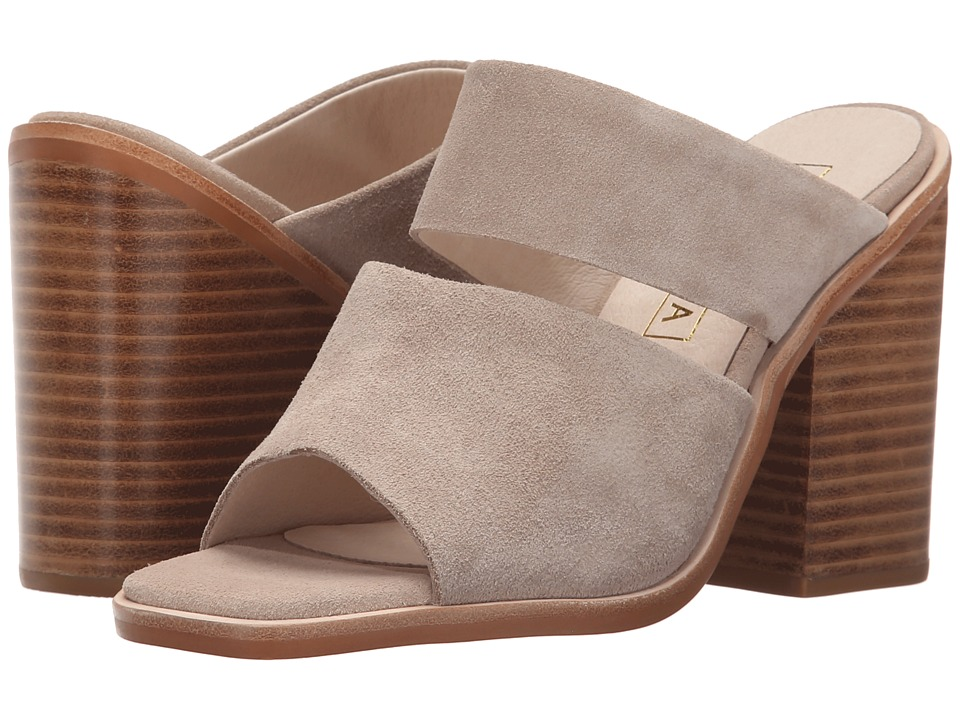 Sol Sana - Dice Mule (Taupe Suede) Women's Clog/Mule Shoes