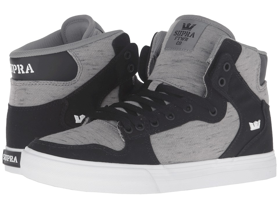 Supra - Vaider (Black Canvas) Skate Shoes