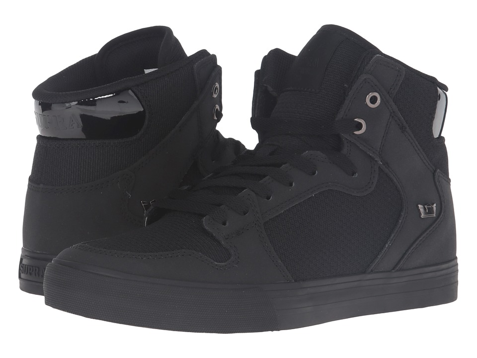Supra - Vaider (Black Nubuck) Skate Shoes